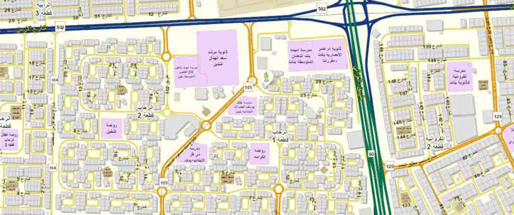 Google Map of 29.3300881, 48.0524768